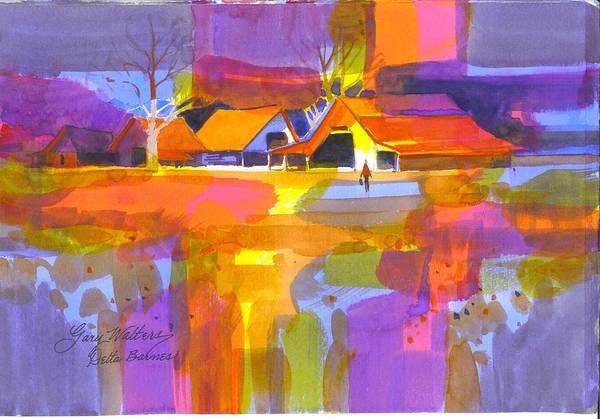 Wall Art - Painting - Delta Barnes by Gary Walters