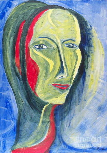 Painting - Delta Debbie by Walt Brodis