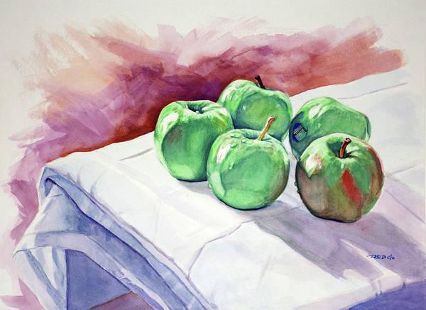 Painting - Dem Apples by Christopher Reid