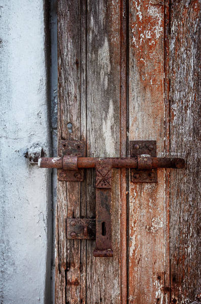 Wall Art - Photograph - Old Wooden Door by Carlos Caetano