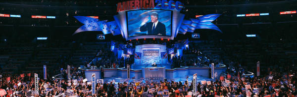 Democratic Party Photograph - Democratic Convention At Staples by Panoramic Images