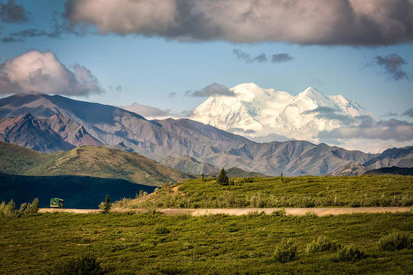 Photograph - Denali Appears by Claudia Abbott