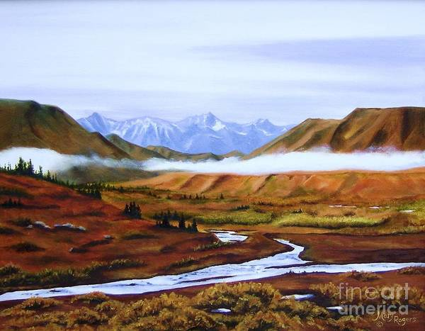 Mary Rogers Painting - Denali Autumn by Mary Rogers