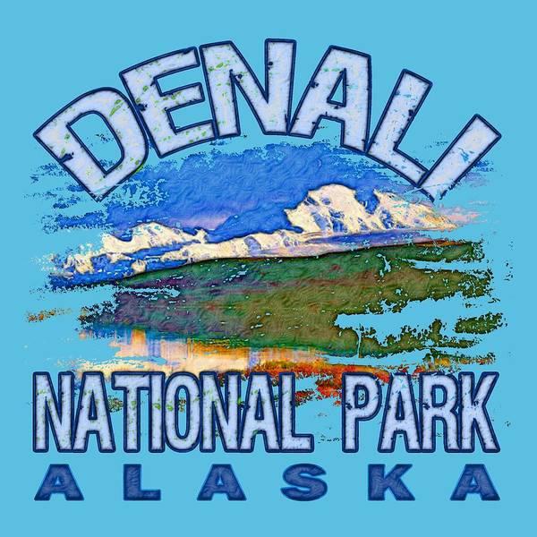 Wall Art - Digital Art - Denali National Park by David G Paul