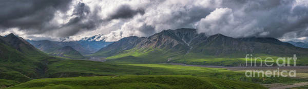 Photograph - Denali National Park Pano  by Michael Ver Sprill