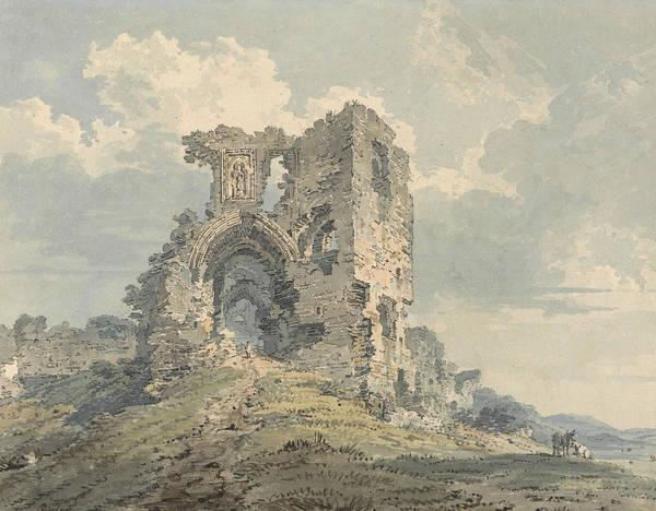 Painting - Denbigh Castle by Thomas Girtin