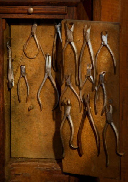 Wall Art - Photograph - Dentist - Methods Of Extraction  by Mike Savad
