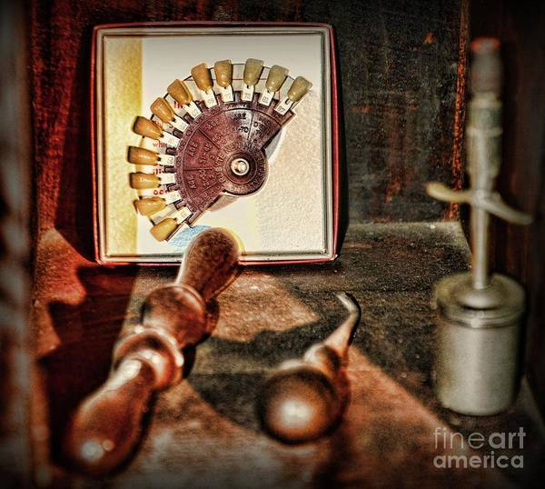 Wall Art - Photograph - Dentist Teeth Of Many Colors by Paul Ward
