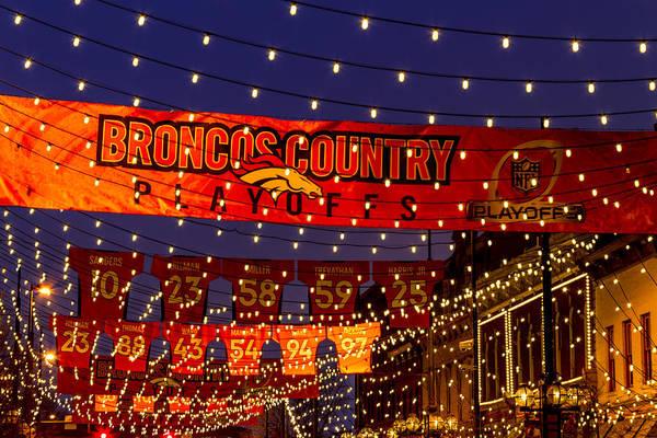Photograph - Denver Broncos Country by Teri Virbickis