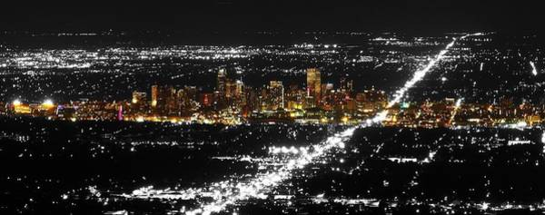 Photograph - Denver City Lights by Rand