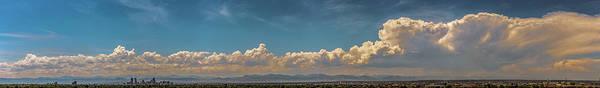 Photograph - Denver Cityscape Stormscape 003 by NebraskaSC