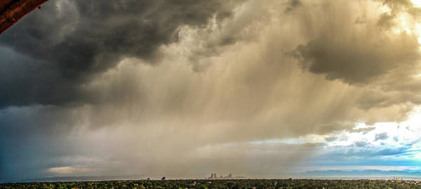 Photograph - Denver Cityscape Stormscape 014 by NebraskaSC