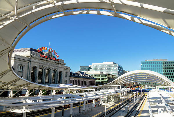 Photograph - Denver Co Union Station by Teri Virbickis