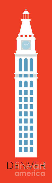 Denver D And F Tower/tall Art Print