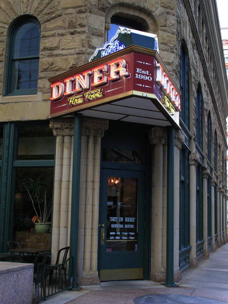 Corvair Photograph - Denver Diner by Frank Romeo