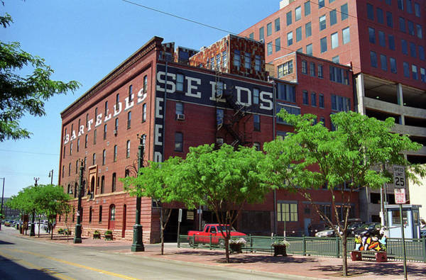 Photograph - Denver Downtown Warehouse by Frank Romeo