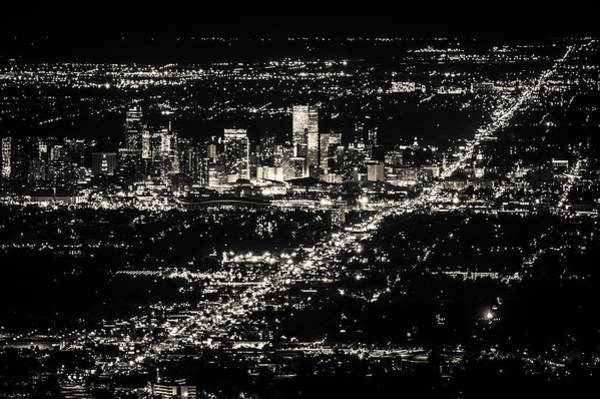 Photograph - Denver Skyline by Stephen Holst