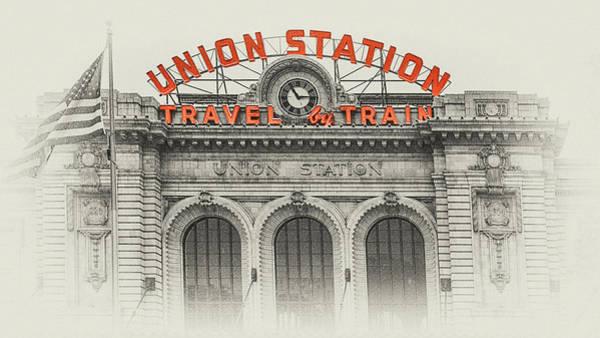 Photograph - Denver Union Station 2 by Susan Rissi Tregoning