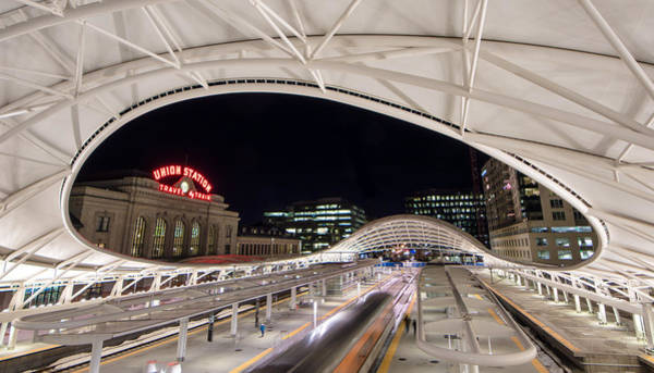 Photograph - Denver Union Station 3 by Stephen Holst