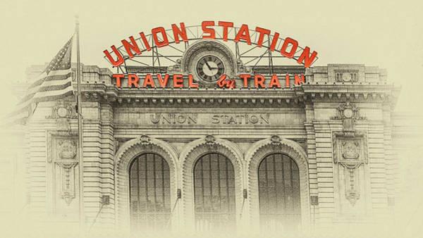 Photograph - Denver Union Station by Susan Rissi Tregoning