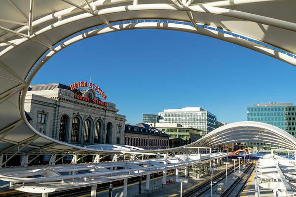 Photograph - Denver Union Station Train Depot by Teri Virbickis