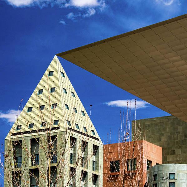 Photograph - Denver Urban Geometry by Tim Kathka