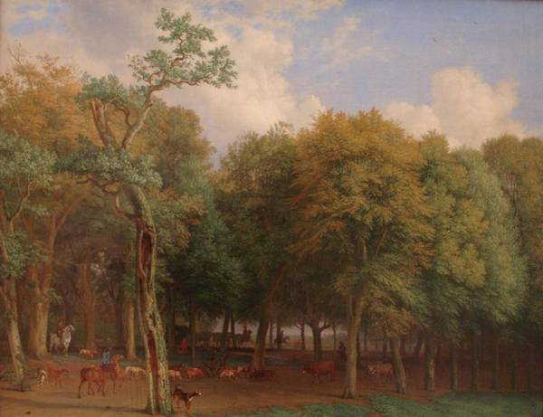 Painting - Departure To The Hunt by Paulus Potter