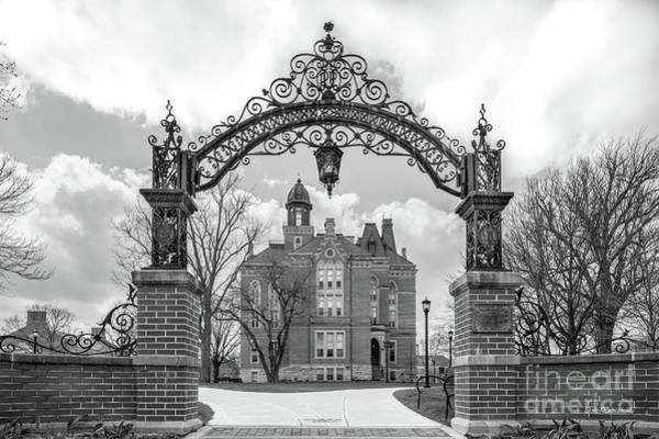 Photograph - Depauw University Campus Gate by University Icons