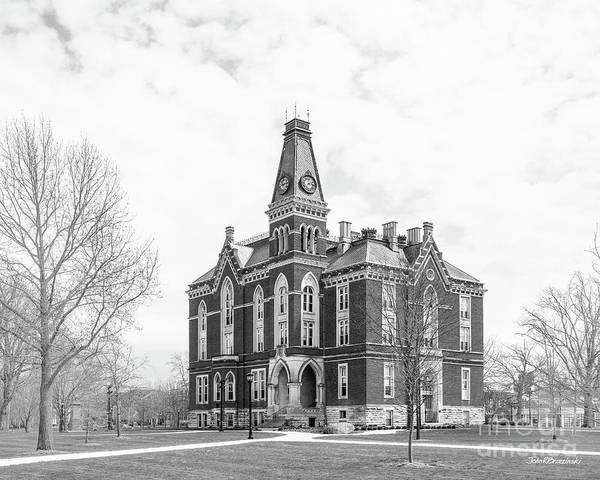 Photograph - Depauw University East College by University Icons