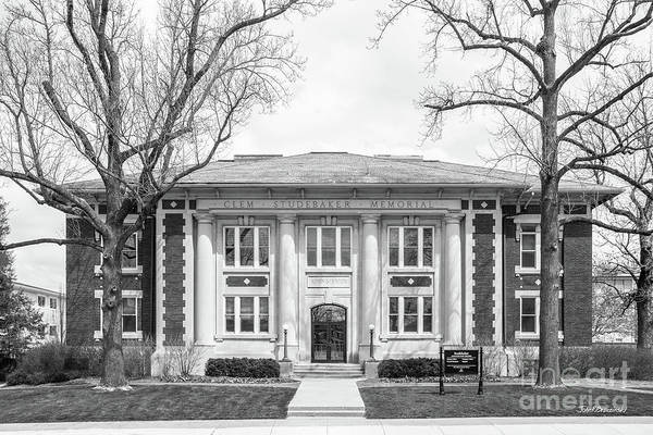 Photograph - Depauw University Studebaker Administration Building by University Icons