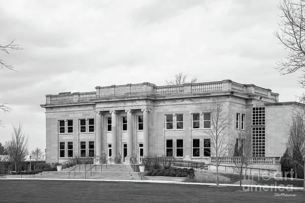 Photograph - Depauw University Emison Building  by University Icons