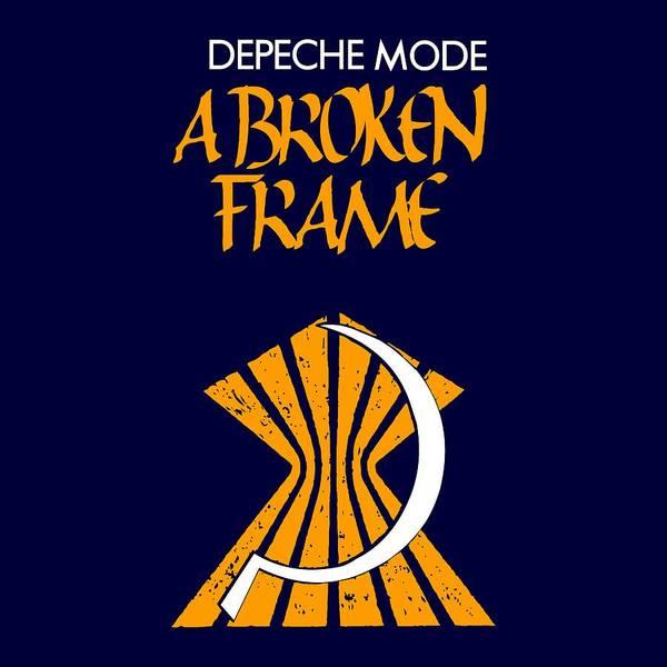 Broken Digital Art - A Broken Frame Logo With Name by Luc Lambert