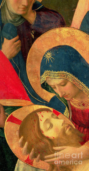 Dying Painting - Deposition From The Cross by Fra Angelico