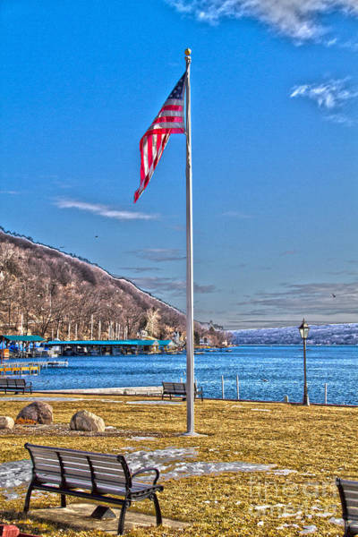 Photograph - Depot Park Hammondsport Ny by William Norton