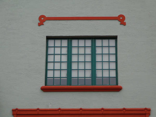 Photograph - Depot Window One by Kathy K McClellan