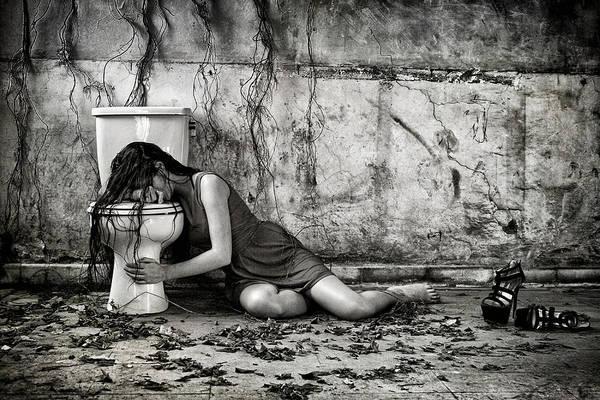 Wall Art - Photograph - Depression by Joey Bangun