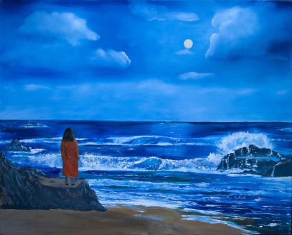 Paramhansa Yogananda Painting - Depthless Sea by Nayaswami Jyotish
