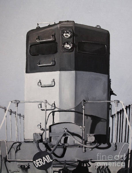 Painting - Derail by Mary Capriole