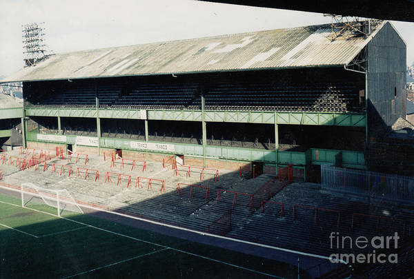 Wall Art - Photograph - Derby County - The Baseball Ground - North Stand Osmanston End 1 - September 1970 by Legendary Football Grounds