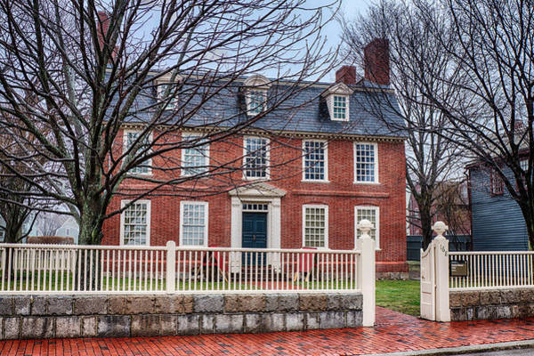Photograph - Derby House In Salem Ma by Jeff Folger