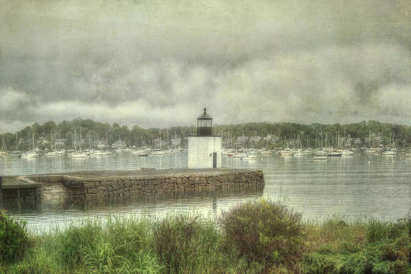 Photograph - Derby Wharf Light - Salem, Ma. by Joann Vitali