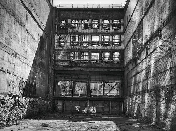 Urban Decay Photograph - Derelict Demolition by Theresa Tahara