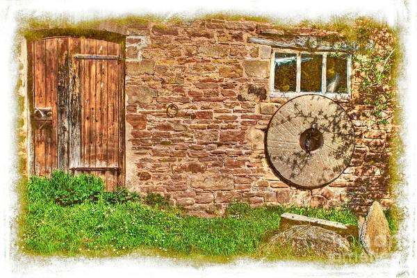 Photograph - Derelict Farmhouse by David Birchall
