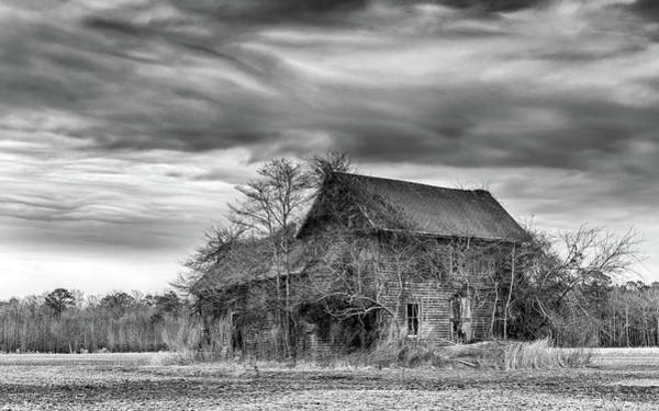 Photograph - Derelict Farmhouse Scene by Framing Places