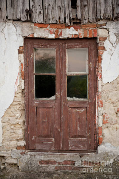 Wall Art - Photograph - Derelict House Wooden Doors by Arletta Cwalina