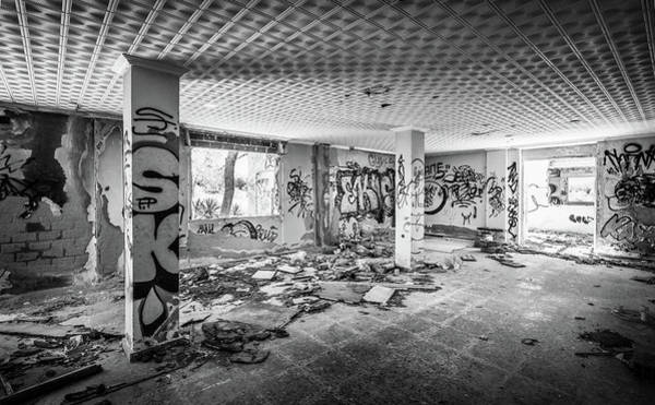 Photograph - Derelict Room. by Gary Gillette