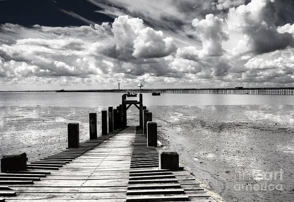 Southend Photograph - Derelict Wharf by Sheila Smart Fine Art Photography
