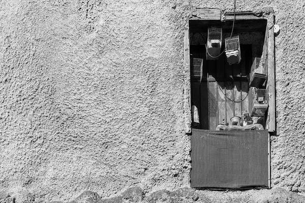 Wall Art - Photograph - Derelict Window In Psirri, Athens by Iordanis Pallikaras