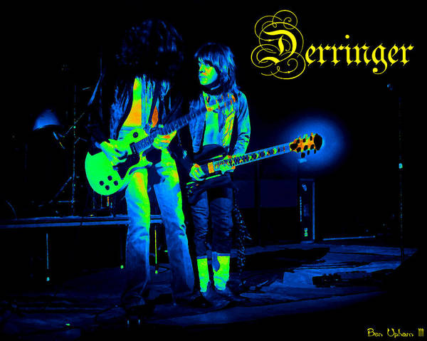 Photograph - Derringer 77 #27 Enhanced In Cosmicolors 2 With Text by Ben Upham