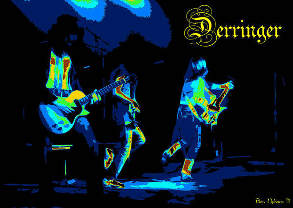 Photograph - Derringer 77 #31 Enhanced #1 In Cosmicolors With Text by Ben Upham